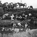 Cowboys Bathing by Granger