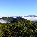 Cowee Overlook At Black Rock Mountain State Park by Steve Samples