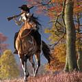 Cowgirl Autumn by Daniel Eskridge