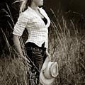 Cowgirl by Rikk Flohr