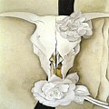 Cow's Skull With Calico Roses By Georgia O'keeffe by Spencer McKain