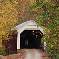 Cox Ford Covered Bridge by Greg Matchick