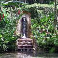 Coyaba Garden Ornamental Fountain by Cedric Hampton