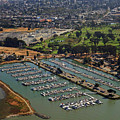 Coyote Point Marina San Francisco Bay Sfo California by Toby McGuire
