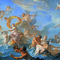 Coypel's The Abduction Of Europa by Cora Wandel
