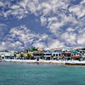 Cozumel Coastal Scene by Anthony Dezenzio