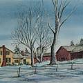 Cozy Winter Night by Charlotte Blanchard