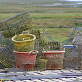Crab Pots And Baskets by JoJo Photography
