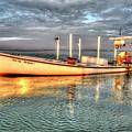Crabbing Boat Beth Amy - Smith Island, Maryland by Greg Hager