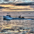 Crabbing Boat Miss Maxine - Smith Island Maryland by Greg Hager