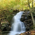 Crabtree Falls In The Fall by M C Hood