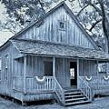 Cracker School House Cyan by D Hackett