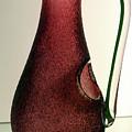 Cranberry Pitcher by Sharon Mayhak