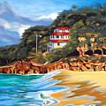 Crash Boat Beach by Milagros Palmieri