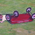 Crash Of The Radio Flyer by Gene Ritchhart