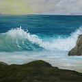 Crashing Wave 3 by Scott W White