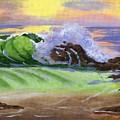 Crashing Wave by Emily Freiman