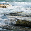 Crashing Waves On Sea Rocks by Michalakis Ppalis