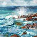 Crashing Waves by Walter Fahmy