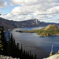 Crater Lake - Intense Blue Waters And Spectacular Views by Christine Till