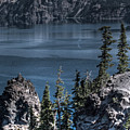 Crater Lake 4 by Jacklyn Duryea Fraizer