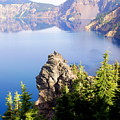Crater Lake 4 by Marty Koch