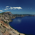 Crater Lake A Caldera Lake  by Christiane Schulze Art And Photography