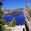 Crater Lake And Wizard Island by Rich Walter