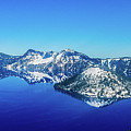 Crater Lake Blue by Jonny D