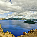 Crater Lake I by Albert Seger