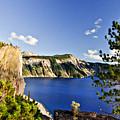 Crater Lake II by Albert Seger