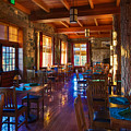 Crater Lake Lodge Dining Room by Scott McGuire