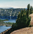 Crater Lake Oregon by Anne Rhodes