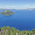 Crater Lake Panoramic by Paul Schultz