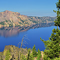 Crater Lake Panoramic Reflections by Greg Norrell