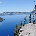 Crater Lake Scenic Panorama by John Kelly