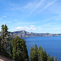 Crater Lake View  by Vince Padilla
