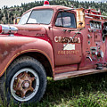 Crawford Fire Truck  by Lynn Sprowl