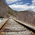 Crawford Notch State Park - Maine Central Railroad by Erin Paul Donovan