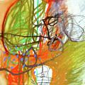 Crayon Scribble#3 by Jane Davies