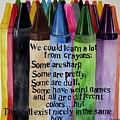 Crayons by Brenda Alcorn