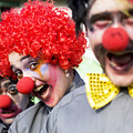 Crazy Circus Clowns by Jorgo Photography - Wall Art Gallery