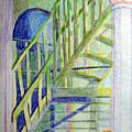 Crazy Steps by Art Nomad Sandra  Hansen