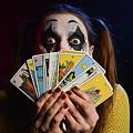 Crazy Tarot Card Reader by Trish Tritz