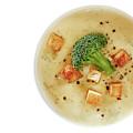 Cream Of Broccoli Soup by Slava Shamanoff