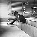 Cream Ready To Be Butter by Underwood Archives