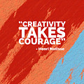 Creativity Takes Courage by Edward Fielding