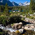 Creek At Heart Lake by Chris Brannen