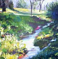 Creek Flow by Sheila Holland