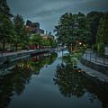 Creek From Bridge #h6 by Leif Sohlman